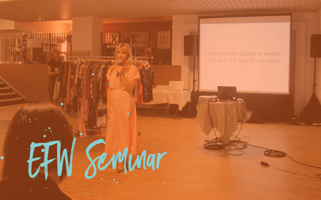 How & why to reuse in fashion: Eco Fashion Week S/S 2012 Seminar