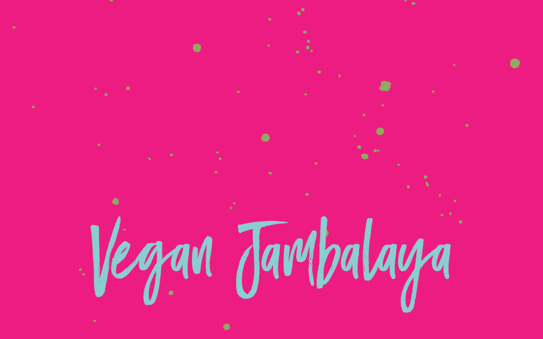 Vegan staples: Jambalaya