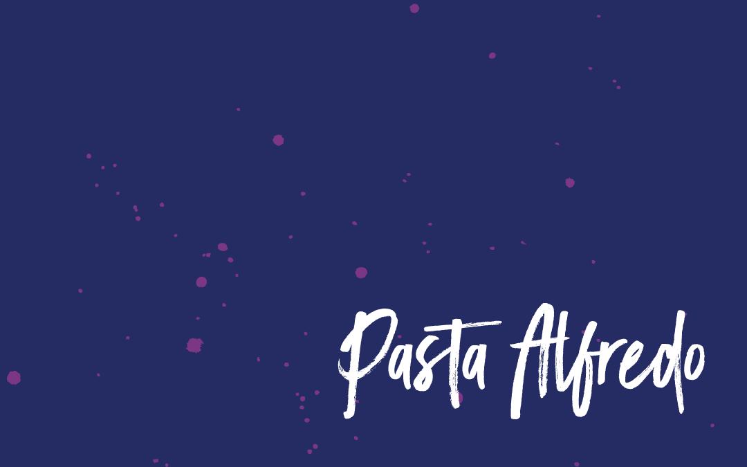 Vegan staples: Alfredo pasta