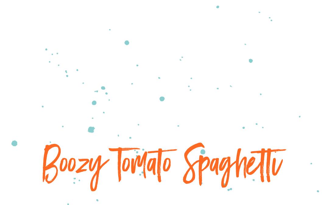 Vegan staples: Spaghetti with tomato sauce