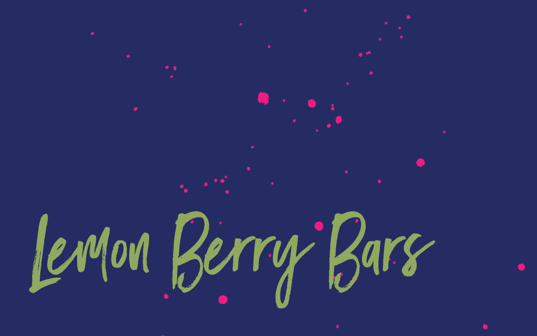 Vegan staples: Lemon berry bars