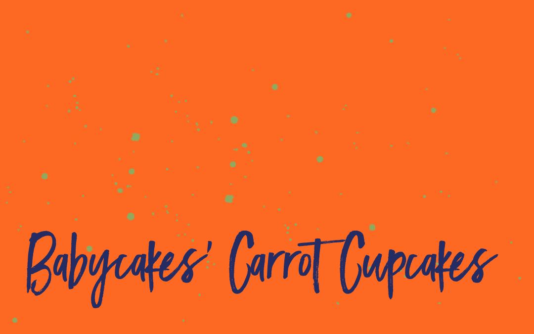 Vegan staples: Carrot cake