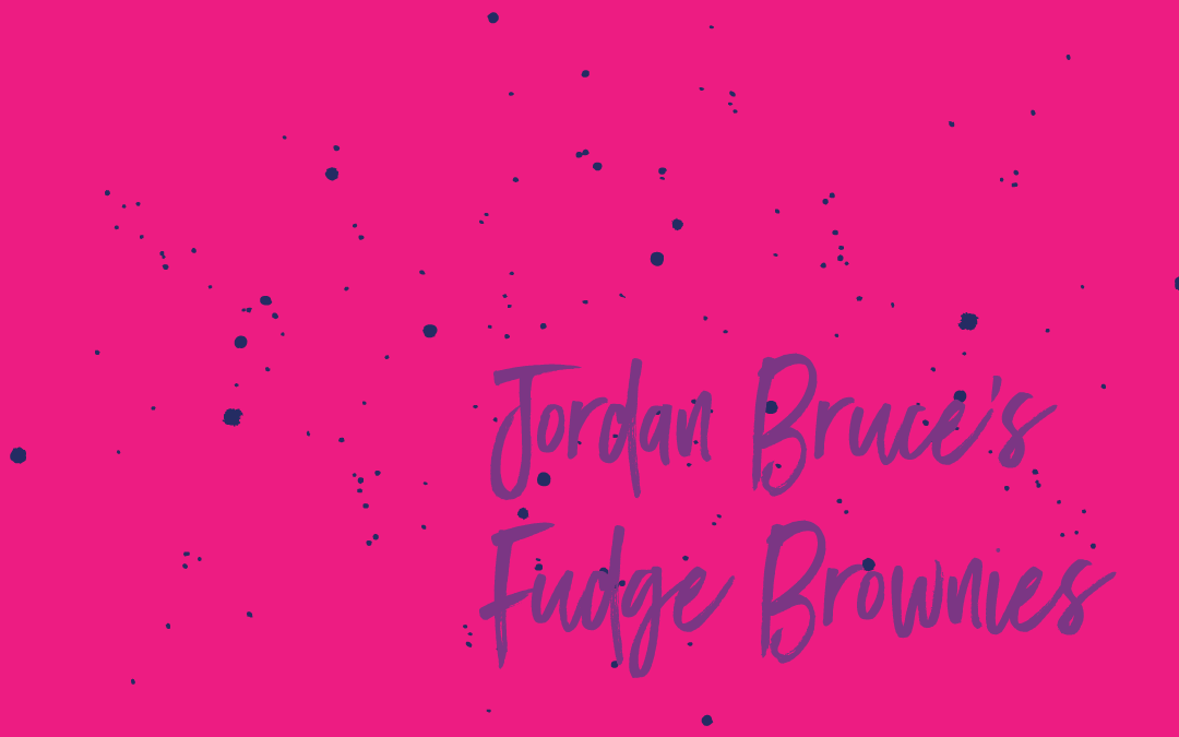 Vegan staples: Jordan Bruce's Coconut Fudge Brownies