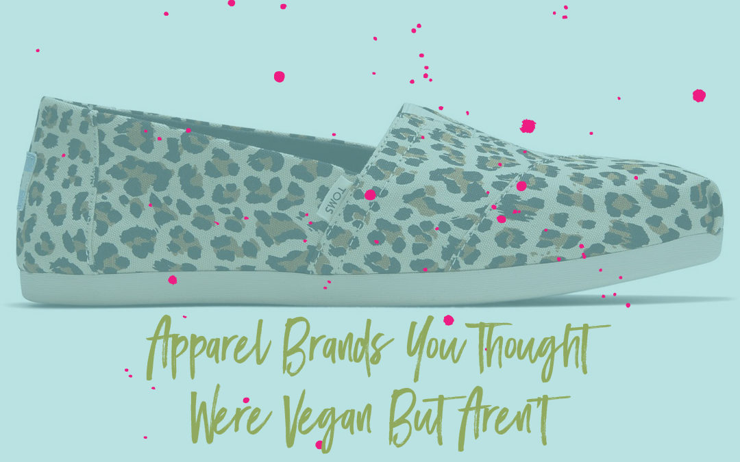 Apparel brands you'd think were vegan but aren't