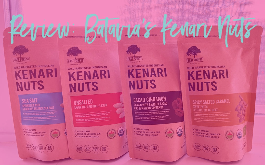 Product Review: East Forest Wild Harvested Indonesian KENARI NUTS